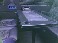 Interior of 14-passenger Mercedes-Benz Executive Coach