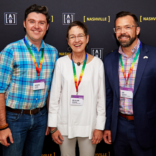 AB was proud to feature Jospeh Clark of the Just Us Program, Dr Armour of the Carpeter Program at Vanderbilt, and Joe Wooley of the Nashville LGBT Chamber at our inaugural pride and ally's event