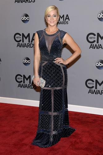 Kelli Pickler wearing JK at The CMA's
