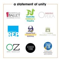 Member News Release: Nashville arts organizations unite in call for community support for the arts
