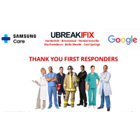 Member News Release: Samsung, Google & UBREAKIFIX Partner to Offer Free Repairs to First Responders