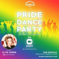 News Release: Franklin Pride Presents ''Digital Pride Dance Party''