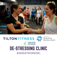De-Stressing Clinic:  SWEAT WORKING - Kettlebells and TRX