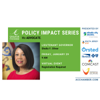 Policy Impact Series:  Lieutenant Governor Sheila Y. Oliver