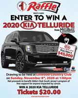Gilda's Club South Jersey has your chance to Win a Kia Telluride!