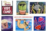 Painting with a Twist/Dickson KIDS SUMMER ART CAMP