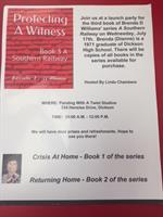 Launch Party for the 3rd Book of Brenda D Williams' series A Southern Railway @ PWAT/Dickson