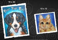 Painting with a Twist's monthly Paint Your Pet Classes Sat Sept 7th Noon-3PM