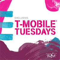 T-Mobile Tuesdays will be Partnering with Painting with a Twist for an Experience/Special Offer