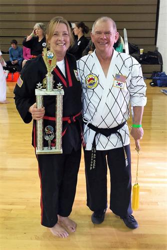 Master & Mrs. Brosseau, Kinston tournament
