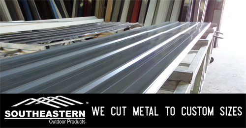 We cut metal to any custom size that you need!