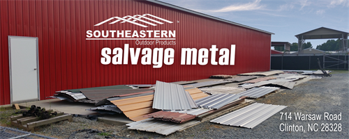 We offer salvage metal for purchase at great savings!