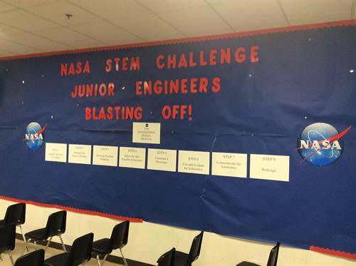 NASA STEM Challenge Wall