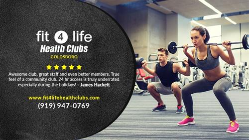 Experience Fit4Life Goldsboro Today!