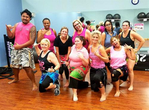 At Fit4Life Goldsboro we build relationships and have fun with our group fitness classes!