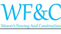 Weaver's Fencing and Construction
