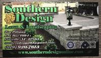 Southern Design Lawn & Landscaping, LLC