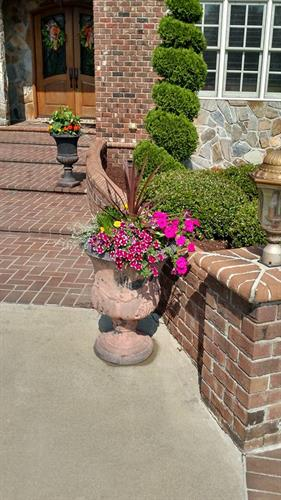 Ornamental Custom Landscape. With the seasons changing enjoy a display of seasonal Ornamental Landscape.