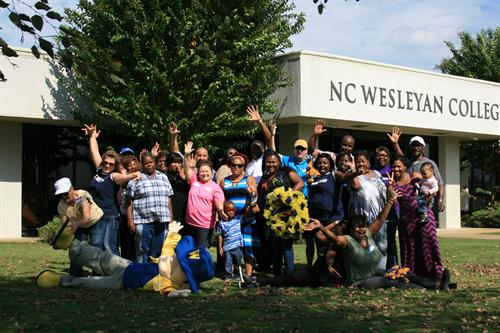 2014 Alumni Picnic at the new building on Parkway Drive