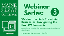 Image for April 29: Webinar for Sole Proprietor Businessed Navigating the COVID-19 Pandemic