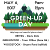 Green-Up Day in Bethel, Greenwood, and Woodstock
