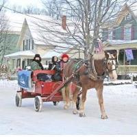 Free Horse-Drawn Wagon Rides at 2018 Wares Fair Sponsored by Franklin Savings Bank