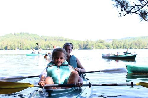 Kayaking is a huge hit!