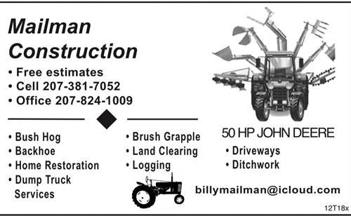 Mailman Construction