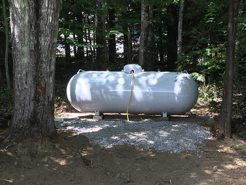 Placement of Propane Tank