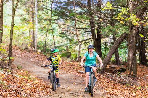 Mt. bike trails in Rumford