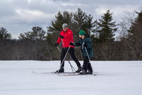 Nordic Skiing at Pineland Farms in New Gloucester, ME