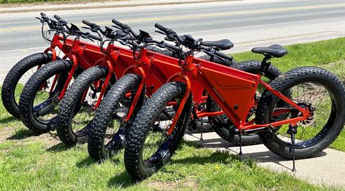 We are renting electric bikes!