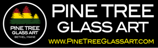 Pine Tree Glass Art
