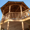 Real log gazebo