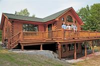 Real log home completed in 2010
