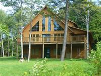Real log home completed in 2008