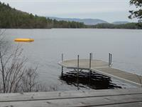 Docks and Floating Raft at Songo Pond
