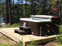 Hot Tub at Songo Pond
