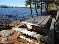 Songo pond picnic table seats 12