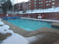 Outdoor Heated Pool at North Peak