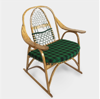 Snow Shoe Rocking Chair