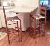 Shaker style South Union counter stools, perfect addition to any kitchen and dining area of your home.