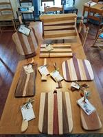 One of a kind cutting boards and woodenware makes  unique gifts!