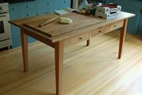 Custom work table shipped to Bainbridge Island, Washington state.