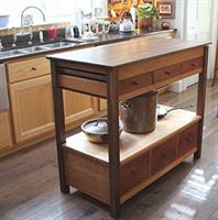 Designed for a Sunday River customer to fit into a small aera of their kitchen.