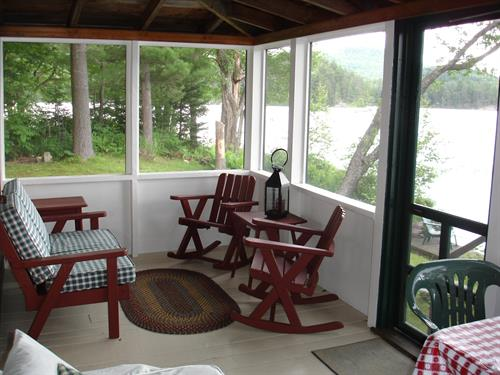 Lake Cottage porch