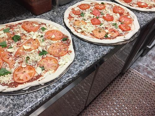 """18"""" NY Style Pizza, yup 18"""""""