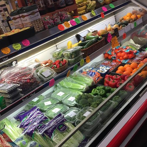 Always fresh produce