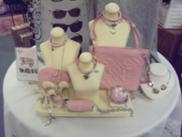 Ruthie's sells Brighton bags and jewelry.