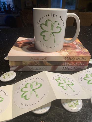 Mugs, Stickers, Buttons
